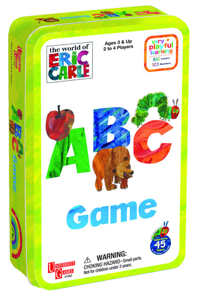 Eric Carle ABC Tin Game | KidzInc Australia | Online Educational Toy Store
