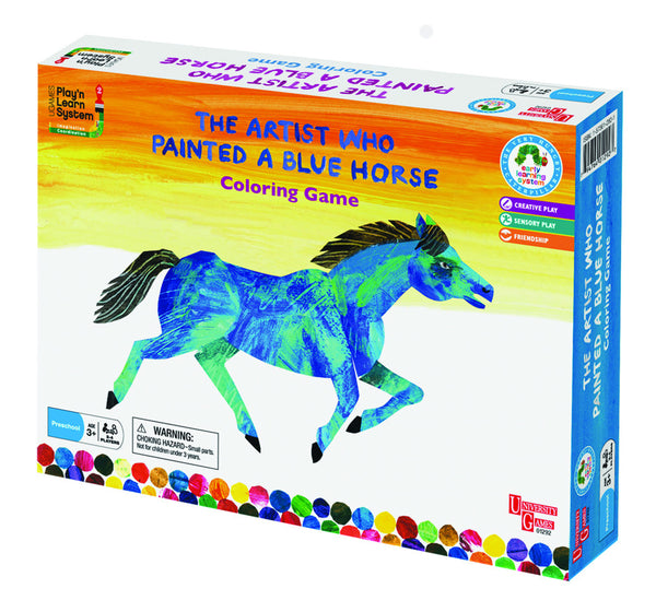 Eric Carle The Artist who painted the blue horse | KidzInc Australia | Online Educational Toy Store