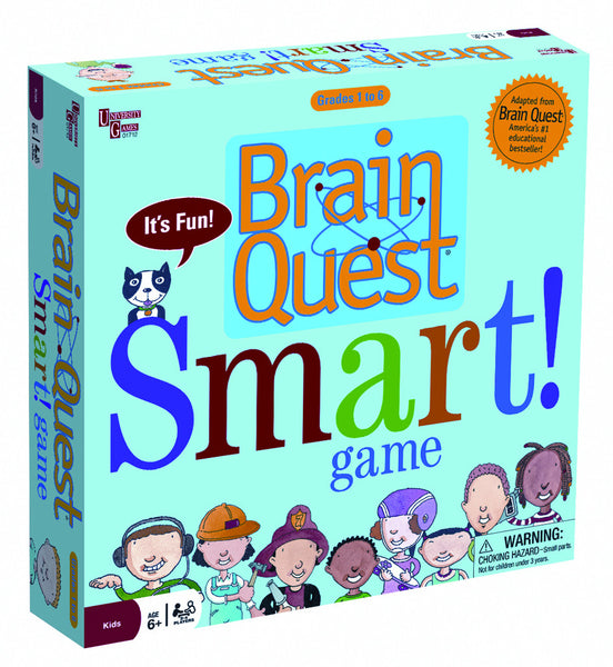 Brain Quest - Smart! Game | KidzInc Australia | Online Educational Toy Store