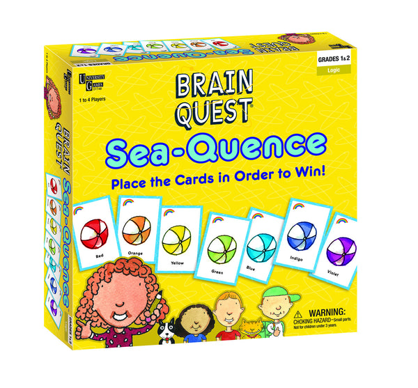 Brain Quest Sea-Quence Game | KidzInc Australia | Online Educational Toy Store