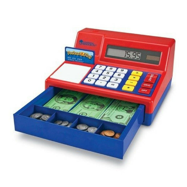 Learning Resources -  Pretend & Play Calculator Cash Register | KidzInc Australia | Online Educational Toy Store