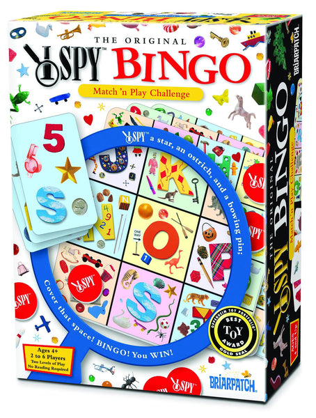 Briarpatch - I Spy Original Bingo Game | KidzInc Australia | Online Educational Toy Store