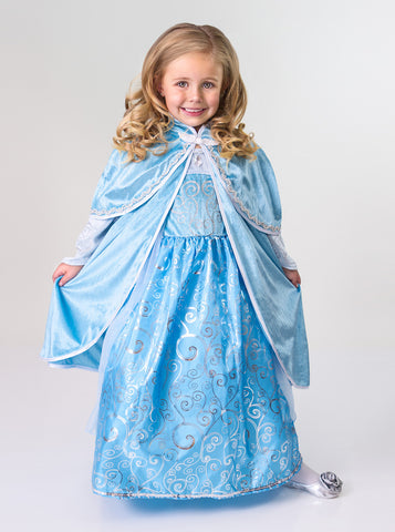 Little Adventures - Ice Princess Girls Cloak | KidzInc Australia | Online Educational Toy Store