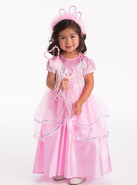 Little Adventures - Royal Pink Princess Girls Costume | KidzInc Australia | Online Educational Toy Store