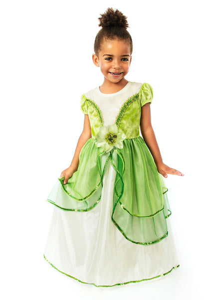 Little Adventures - Lily Pad Princess Girls Costume | KidzInc Australia | Online Educational Toy Store