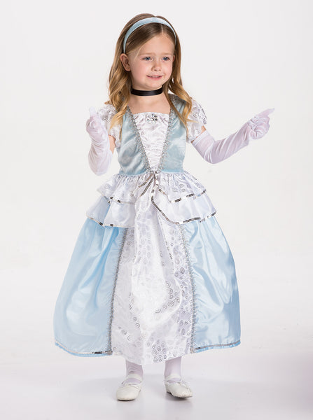 Little Adventures - Cinderella Girls Costume | KidzInc Australia | Online Educational Toy Store