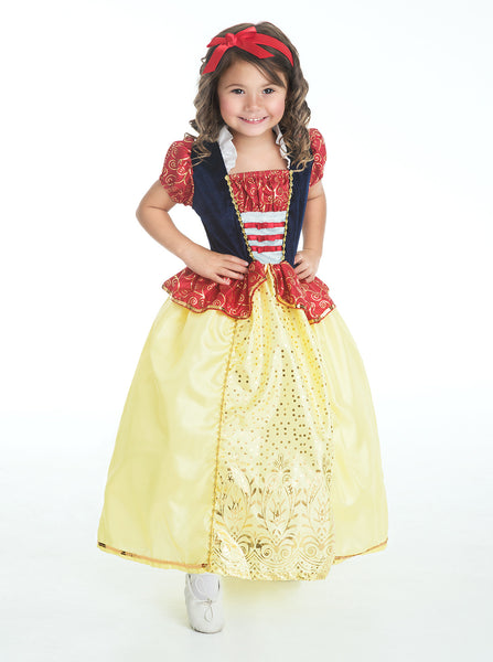 Little Adventures - Snow White Girls Costume | KidzInc Australia | Online Educational Toy Store