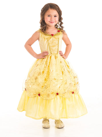 Little Adventures - Yellow Beauty Girls Costume | KidzInc Australia | Online Educational Toy Store