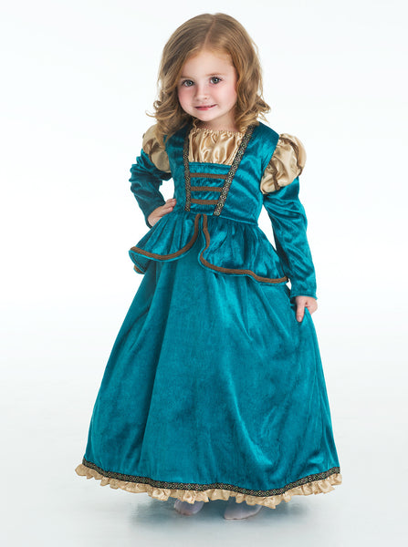Little Adventures - Scottish Princess Girls Costume | KidzInc Australia | Online Educational Toy Store