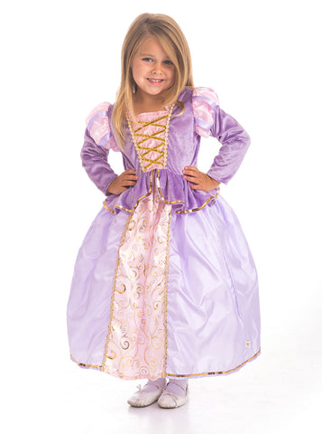 Little Adventures - Classic Rapunzel Girls Costume | KidzInc Australia | Online Educational Toy Store