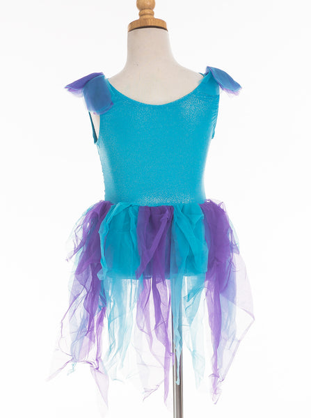 Little Adventures - Teal Fairy Girls Costume | KidzInc Australia | Online Educational Toy Store