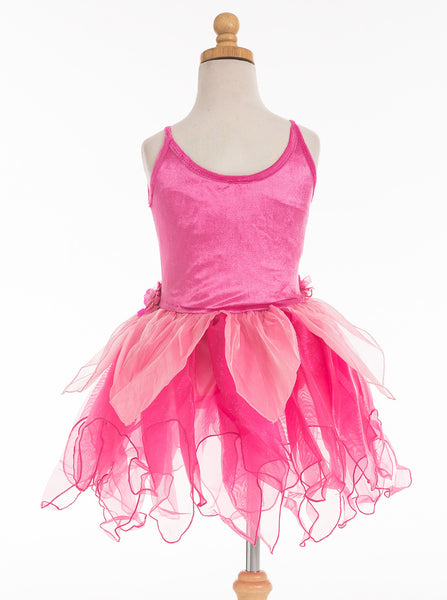 Little Adventures - Hot Pink Tulip Girls Fairy Dress | KidzInc Australia | Online Educational Toy Store