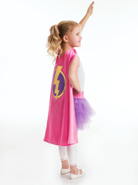 Little Adventures - Girl Hero Cape | KidzInc Australia | Online Educational Toy Store