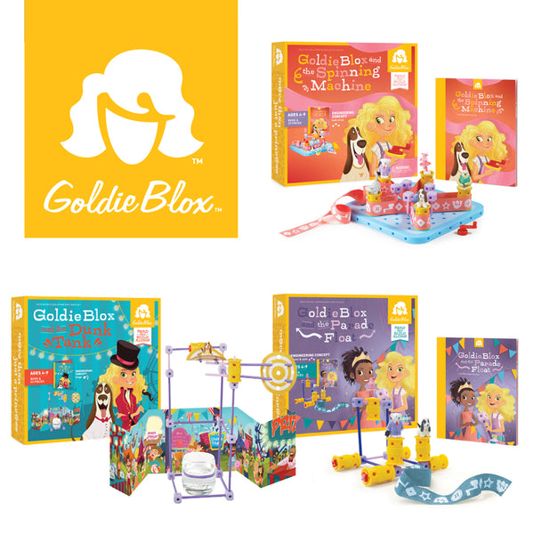 GoldieBlox 3 Kits Special | KidzInc Australia | Online Educational Toy Store