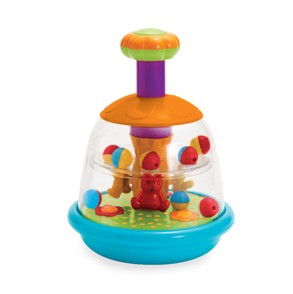 Manhattan Toy - Baby: Push & Spin Carousel | KidzInc Australia | Online Educational Toy Store