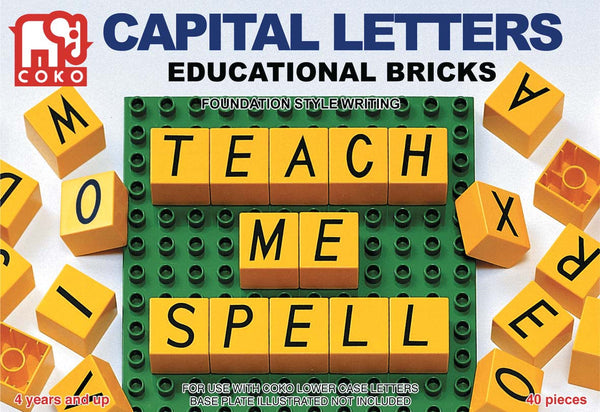COKO - Capital Letters | KidzInc Australia | Online Educational Toy Store