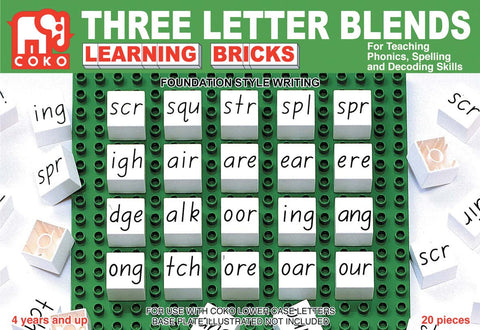 COKO - Three Letter Blends | KidzInc Australia | Online Educational Toy Store