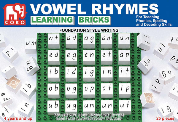 COKO - Vowel Rhymes | KidzInc Australia | Online Educational Toy Store