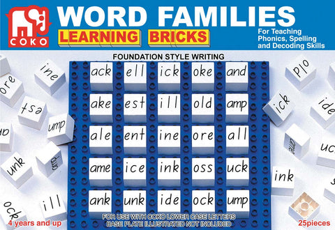 COKO - Word Families | KidzInc Australia | Online Educational Toy Store