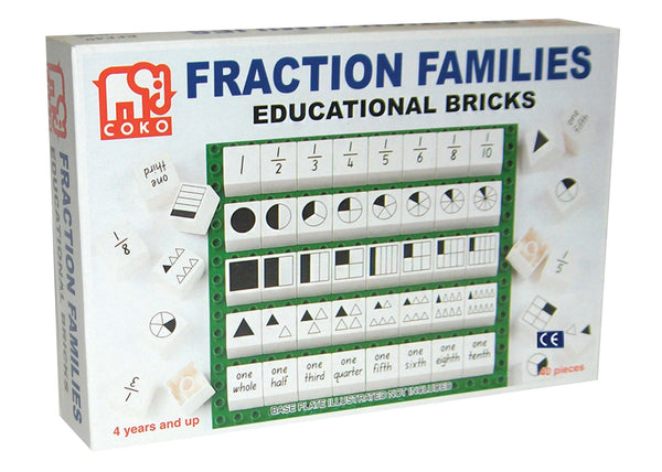 COKO - Fraction Families | KidzInc Australia | Online Educational Toy Store