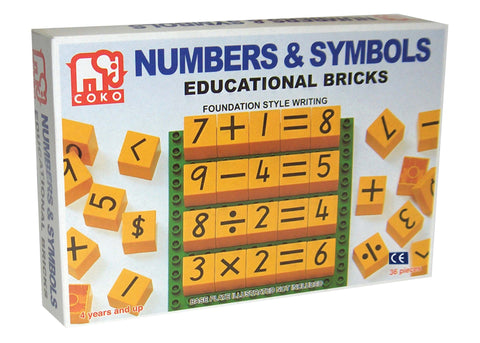 COKO - Numbers and Symbols | KidzInc Australia | Online Educational Toy Store