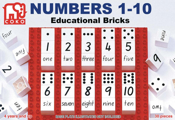COKO - Numbers 1-10 | KidzInc Australia | Online Educational Toy Store