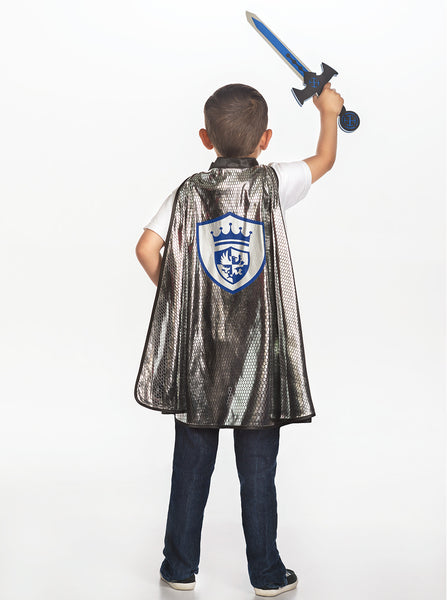 Little Adventures - Knight Cape and Sword Set | KidzInc Australia | Online Educational Toy Store