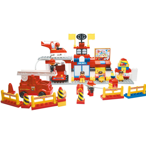 COKO - Fire Department Set | KidzInc Australia | Online Educational Toy Store