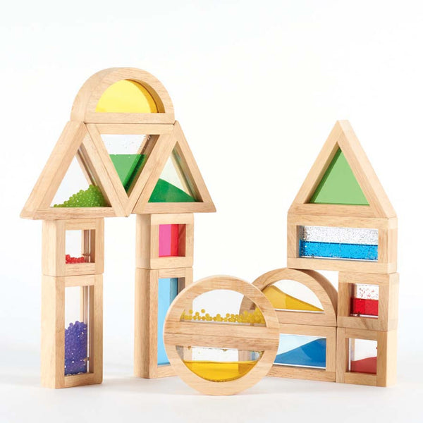 Tickit - Sensory Wooden Blocks | KidzInc Australia | Online Educational Toy Store