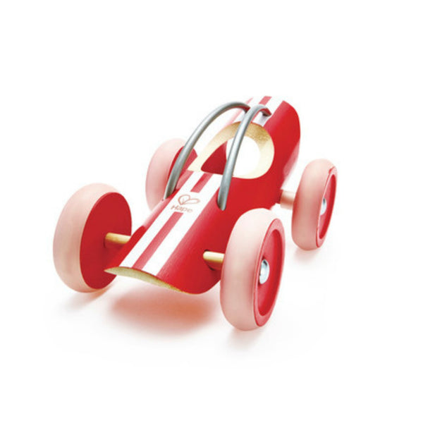 Hape Bamboo Cars - Monza Red E Racer | KidzInc Australia | Online Educational Toy Store
