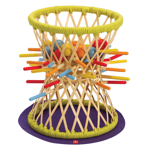 Hape - Bamboo Pallina Game | KidzInc Australia | Online Educational Toy Store