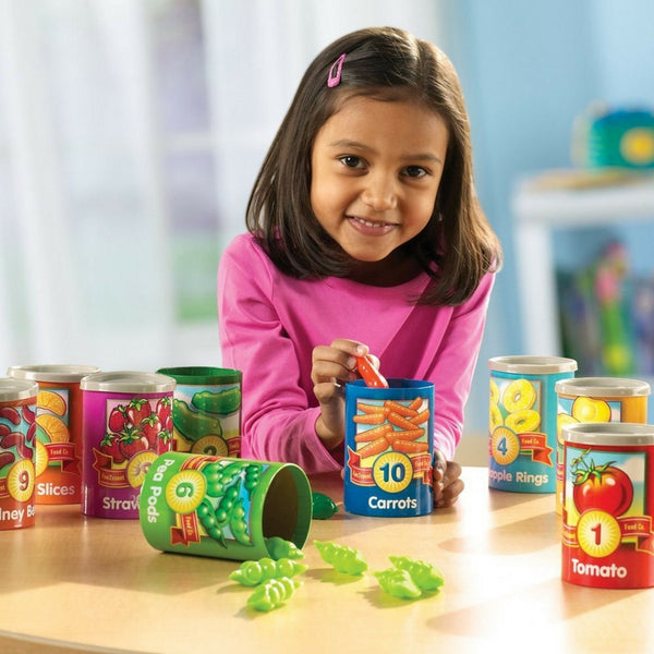 Learning Resources - 1 to 10 Counting Cans | KidzInc Australia | Online Educational Toy Store