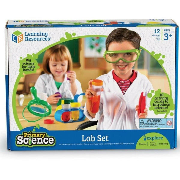 Learning Resources - Primary Science Lab Set | KidzInc Australia | Online Educational Toy Store