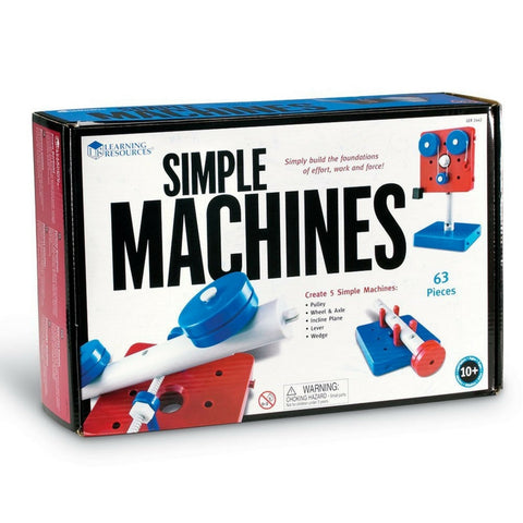 Learning Resources - Simple Machines Set | KidzInc Australia | Online Educational Toy Store