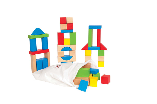 Hape - Maple Block Set | KidzInc Australia | Online Educational Toy Store
