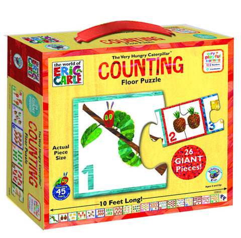 The Very Hungry Caterpillar Counting Floor Puzzle | KidzInc Australia | Online Educational Toy Store