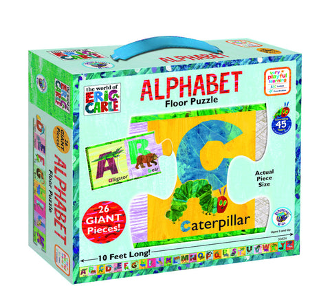 The World of Eric Carle - Alphabet Floor Puzzle | KidzInc Australia | Online Educational Toy Store