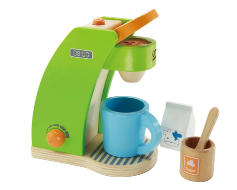 Hape -  Rise N Shine Coffee Maker | KidzInc Australia | Online Educational Toy Store