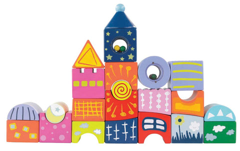Hape - Fantasy Castle Blocks | KidzInc Australia | Online Educational Toy Store