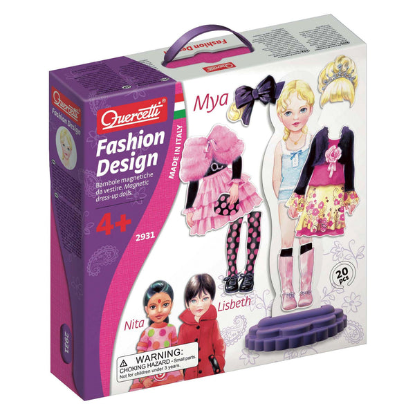 Quercetti - Fashion Design | KidzInc Australia | Online Educational Toy Store
