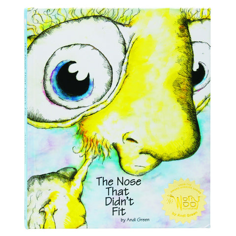 WorryWoo - The Nose that Didn't Fit Book | KidzInc Australia | Online Educational Toy Store