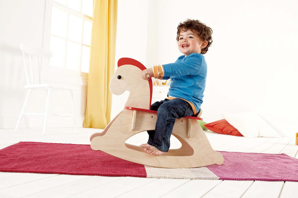 Hape Rock and Ride Rocking Horse | KidzInc Australia | Online Educational Toy Store