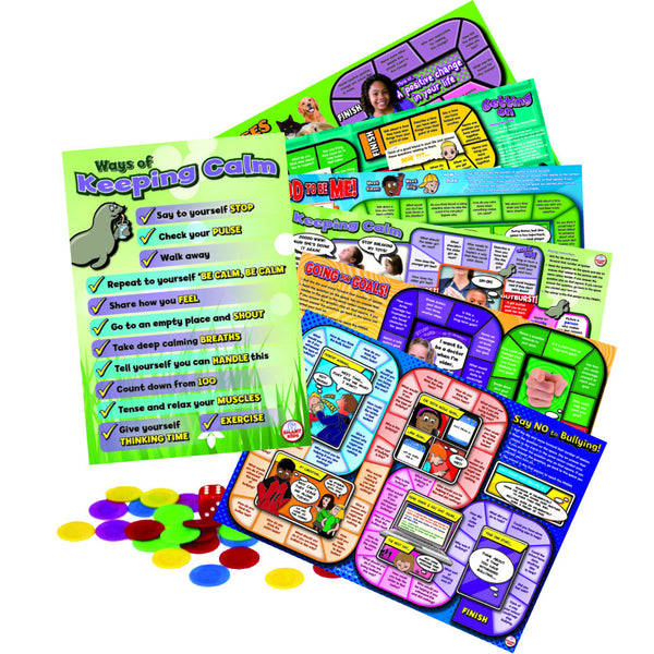 Smart Kids - Personal and Emotional Skills Board Games | KidzInc Australia | Online Educational Toy Store