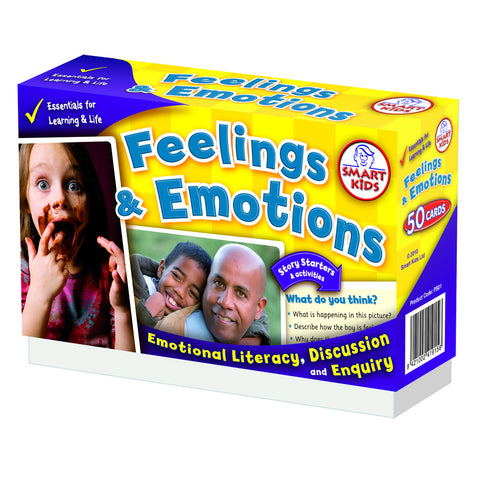 Smart Kids - 50 Feelings and Emotions Cards | KidzInc Australia | Online Educational Toy Store