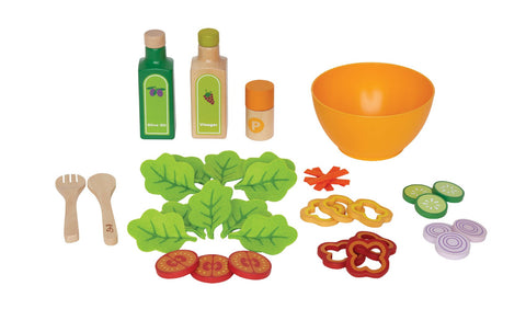 Hape -  Healthy Gourmet Salad | KidzInc Australia | Online Educational Toy Store
