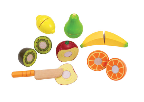 Hape -  Seasons Best Fresh Fruit Market  (Set of 13) | KidzInc Australia | Online Educational Toy Store