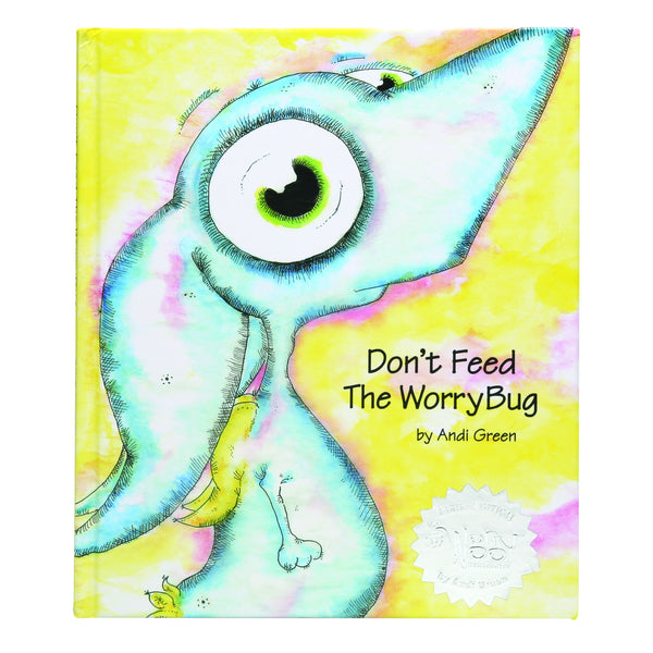 WorryWoo - Don't Feed the WorryBug Book | KidzInc Australia | Online Educational Toy Store