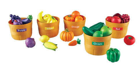 Learning Resources - Farmers Market Colour Sorting Set | KidzInc Australia | Online Educational Toy Store