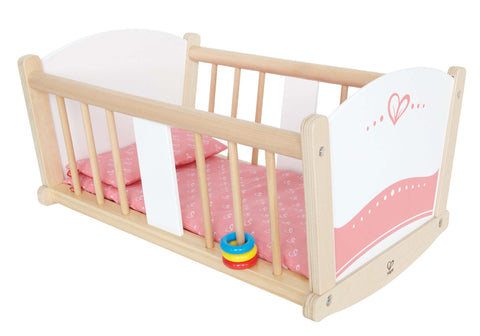 Hape - Baby Cradle | KidzInc Australia | Online Educational Toy Store