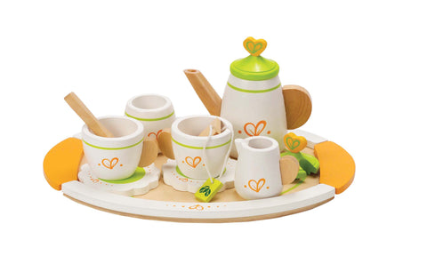 Hape -  Tea for Two (12 Pieces) | KidzInc Australia | Online Educational Toy Store